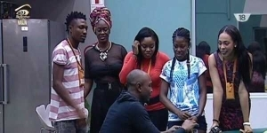 On Day 38: Bisola And Bally Are Back With The Other Housemates